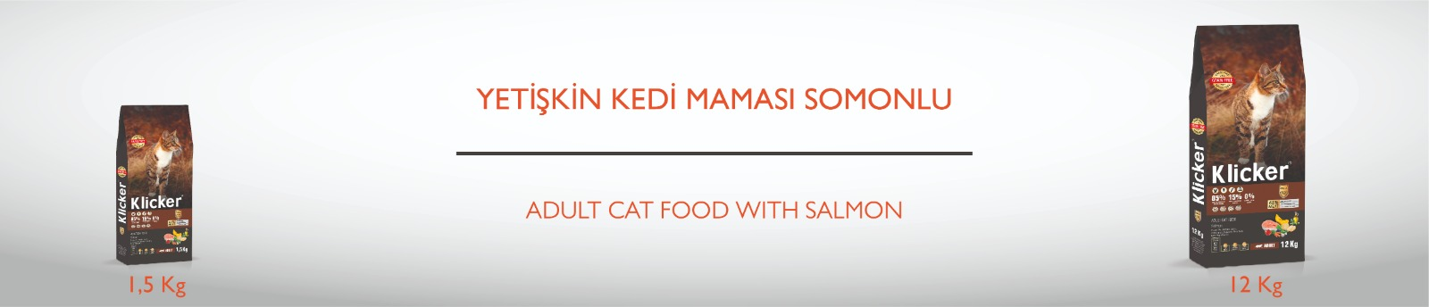 Klicker Salmon pour Chats Adultes